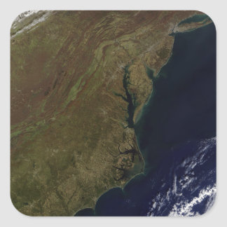 Mid-Atlantic United States Square Sticker
