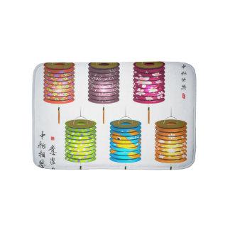 Mid Autumn Festival - Paper Lantern Bath Mats