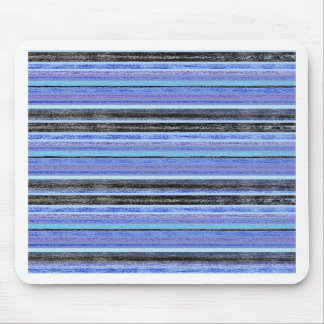 Mid Blue Ombre Multi Stripe Mouse Pad
