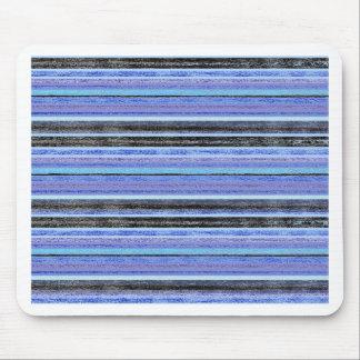 Mid Blue Ombre Multi Stripe Mousepads