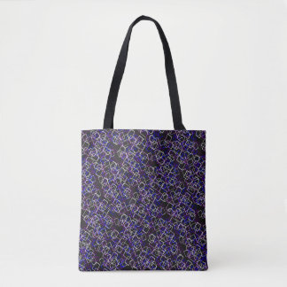 Mid Centry Mod Crazy Tote Bag