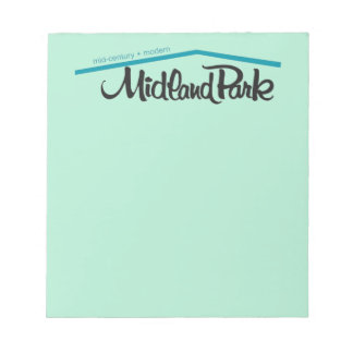 "Mid-Century + Modern 5.5"" x 6"" Notepad - 40 pages"