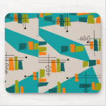 Mid-Century Modern Abstract #55 Mouse Mat