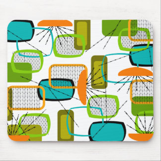 Mid-Century Modern Abstract #57 Mouse Mat