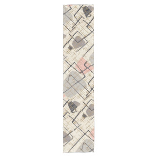 Mid Century Modern Abstract Table Runner