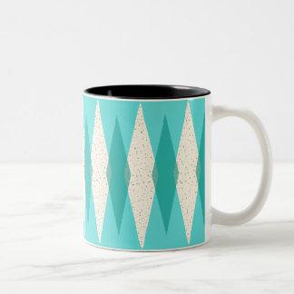 Mid Century Modern Argyle Mug