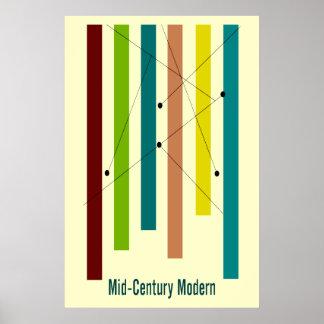 Mid-Century Modern Art Poster