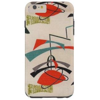Mid Century Modern Atomic Fabric iPhone 6 Case Tough iPhone 6 Plus Case
