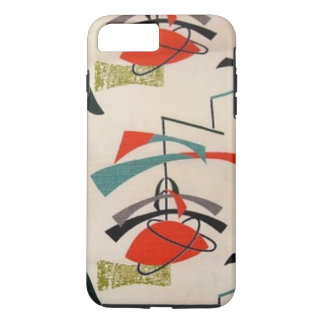 Mid Century Modern Atomic Fabric iPhone 7 Case