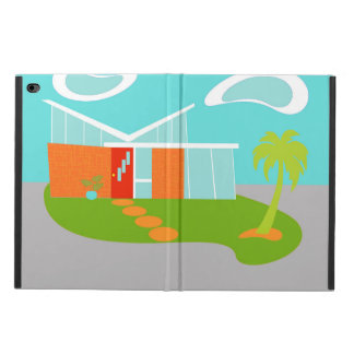 Mid Century Modern Cartoon House iPad Air Case