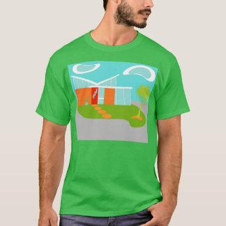 Mid Century Modern Cartoon House T-Shirt