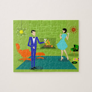 Mid Century Modern Couple Puzzle