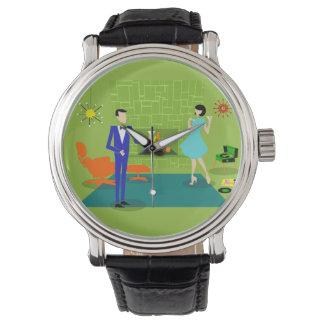 Mid Century Modern Couple Watch