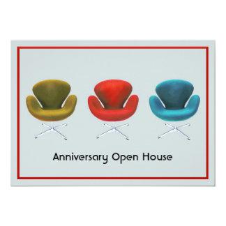 Mid Century Modern Customizable Special Event 13 Cm X 18 Cm Invitation Card