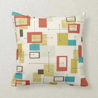 Mid Century Modern Design Pillow