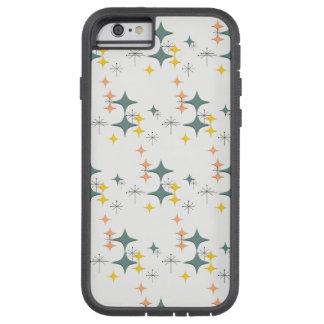 Mid Century Modern Eames Atomic Starbursts Custom Tough Xtreme iPhone 6 Case