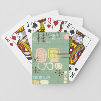 Mid Century Modern Graphic Design Playing Cards
