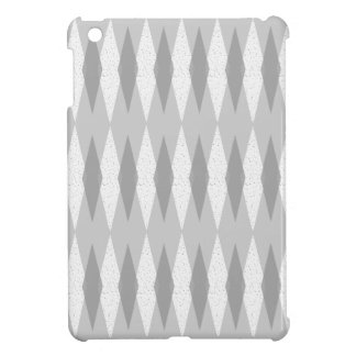 Mid Century Modern Grey Argyle iPad Mini Case