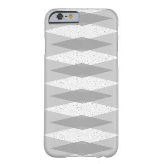 Mid Century Modern Grey Argyle iPhone Case