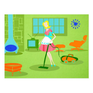 Vintage housewife postcards zazzle uk for Modern housewife