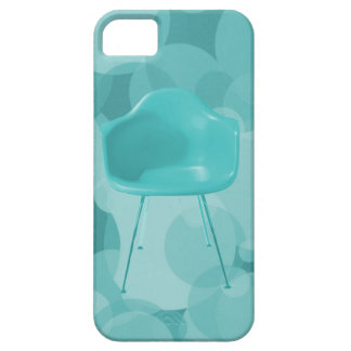 Mid Century Modern Teal Blue Chair Case For The iPhone 5