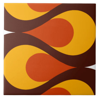 Mid Century Waves Tile