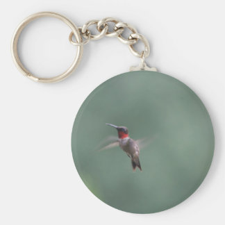 Mid Flight Basic Round Button Key Ring