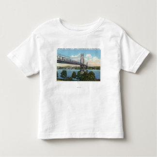 Mid-Hudson Bridge to Roosevelt Nat'l Historic Toddler T-Shirt
