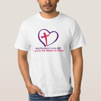 Mid-Hudson Love in the Name of Christ T-Shirt