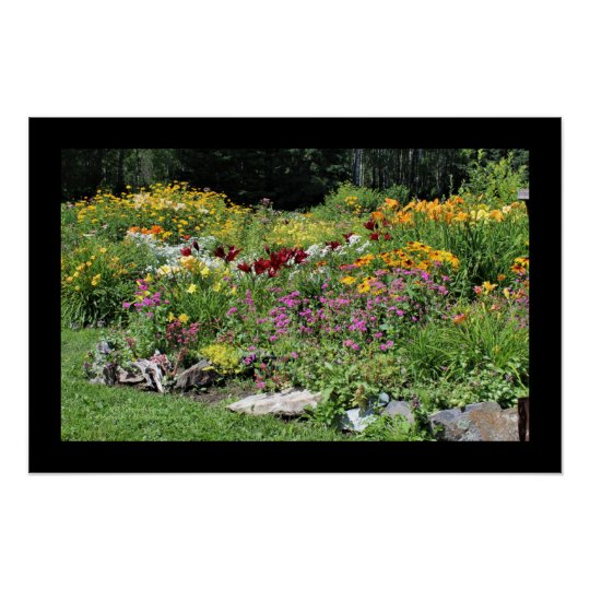 Mid-Summer Gardens Poster