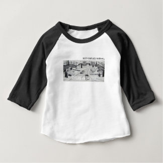 Midcentury Modern Architecture - Future Architect Baby T-Shirt