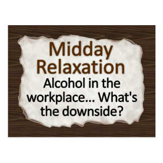 Midday Relaxation  Postcard