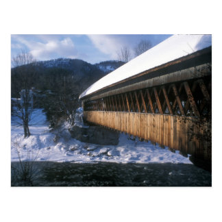 Middle Bridge Woodstock in Winter Post Cards