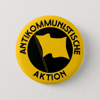 Middle buttons: Antikom logo 6 Cm Round Badge