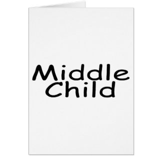 Middle Child Card