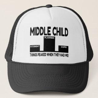 Middle Child Joke Trucker Hat