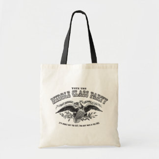 Middle Class Party Budget Tote Bag