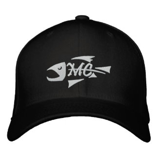 Middle Creek Fish Skeleton Embroidered Hat