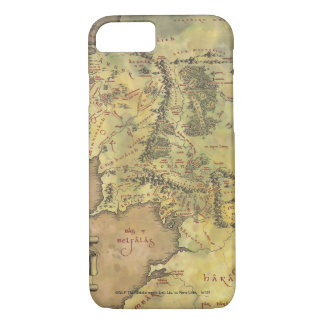 MIDDLE EARTH™ #2 Map iPhone 8/7 Case