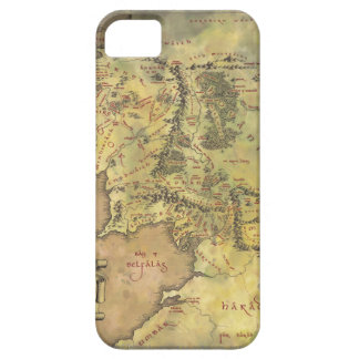 Middle Earth Map Barely There iPhone 5 Case