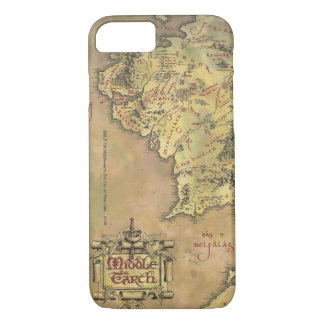 Middle Earth Map iPhone 8/7 Case