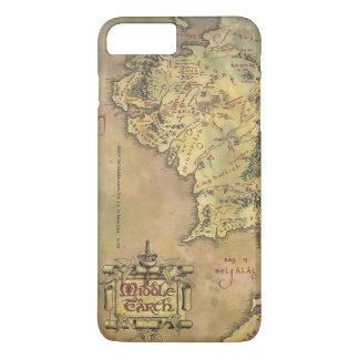 Middle Earth Map iPhone 8 Plus/7 Plus Case