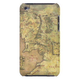 Middle Earth Map iPod Case-Mate Case