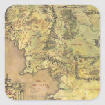 Middle Earth Map Stickers