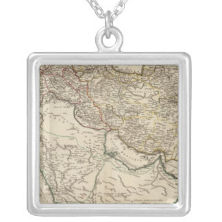 Middle East 2 Silver Plated Necklace