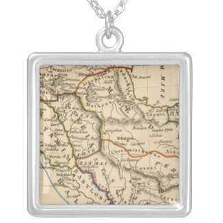 Middle East 4 Silver Plated Necklace