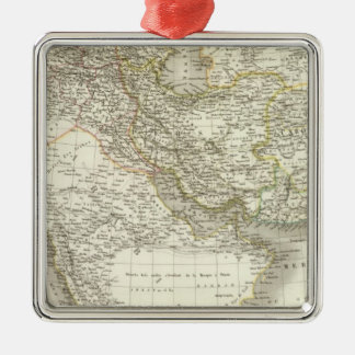 Middle East Atlas Map 2 Christmas Ornament
