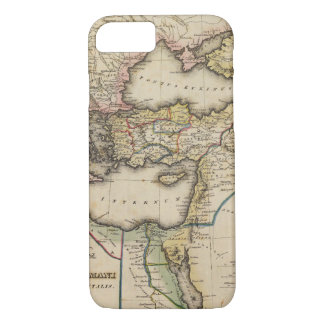 Middle East Atlas Map iPhone 8/7 Case