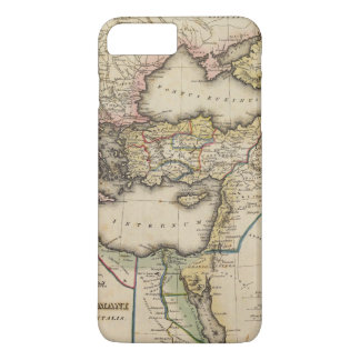 Middle East Atlas Map iPhone 8 Plus/7 Plus Case