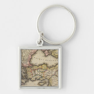 Middle East Atlas Map Key Ring